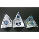 Pyramid 4-Sided  - custom piece - call for pricing Acrylic Embedments